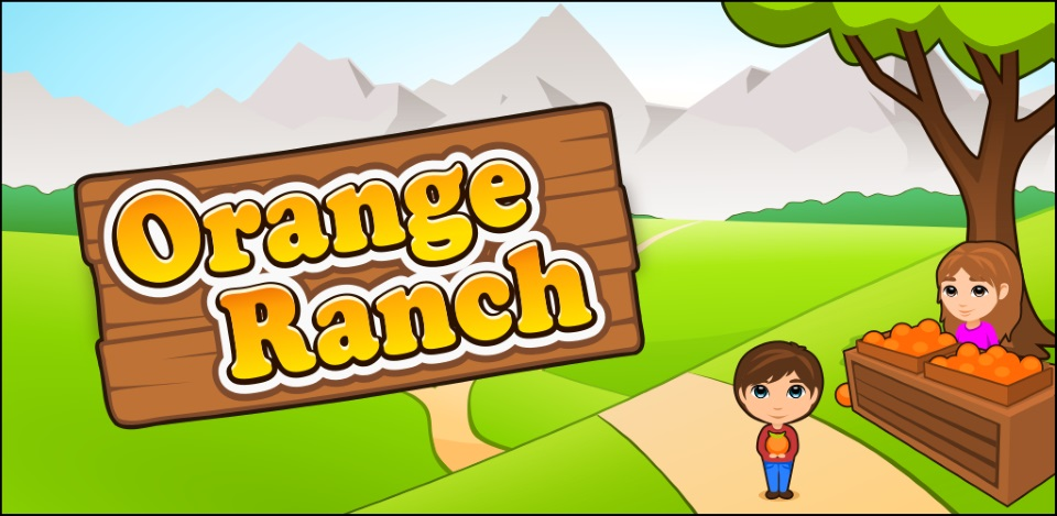 Orange Ranch - HTML5 bubble shooter / farm game available for licensing